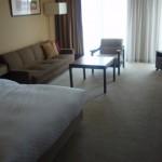 リーガロイヤルホテル京都の部屋の様子
