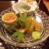 リーガロイヤルホテル京都の京都たん熊北店で夕食