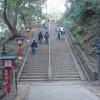 一番の難所と思われる長い階段