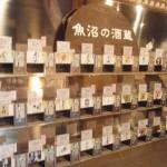 ぽんしゅ館で日本酒の試飲