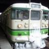 越後湯沢駅からJR上越線で水上駅へ