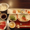 源泉湯の宿 松乃井の夕食