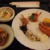 源泉湯の宿 松乃井の朝食