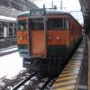 水上駅からJR上越線で高崎駅へ出発