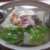 龍安寺の西源院で湯どうふを食する