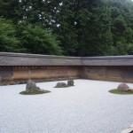 龍安寺を観光