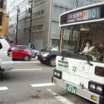 金閣寺からバス乗り場に行き、そして京都駅へ