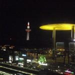 京都駅近辺の夜景を堪能