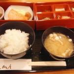 新都ホテルの朝食は京大和屋にて