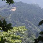 見晴台から大山頂上に向け登山、途中ハプニング