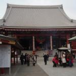浅草寺本堂へ移動