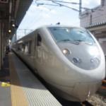 富山駅から和倉温泉駅へ「特急はくたか」で移動