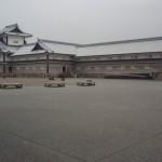 金沢城跡を見学