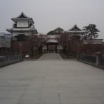 金沢城 石川門を抜け、兼六園へ