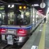 金沢駅から芦原温泉駅に向けて出発