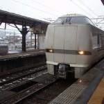 芦原温泉駅から名古屋駅に向けて移動、まずは米原駅へ