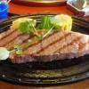 和田金で三重の松阪牛を食す