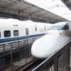 大阪梅田駅から新大阪駅へ、そして新幹線で博多へ