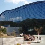 九州国立博物館で長時間展示物を見学