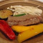 ホテル華翠苑の夕食