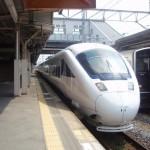 武雄温泉駅から長崎駅へ