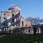 原爆ドーム、そして爆心地へ