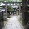 京都御苑の白雲神社など