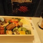 辻留の弁当を新幹線内で堪能