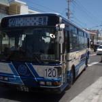 ピンクマーリンクラブから那覇空港へバスで移動