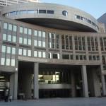 東京都議会議事堂を見学に