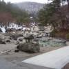 草津温泉の名勝・西の河原公園 大露天風呂