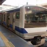 上野駅から快速で水戸駅へ