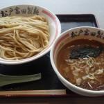 松戸富田製麺で昼食