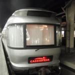 上野駅で寝台特急カシオペアの乗り場へ移動