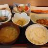 「旅の宿うぶかた」の朝食