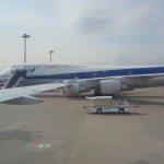 稚内空港からANA572便で東京へ帰還