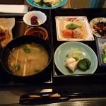 京都ブライトンホテル、京懐石 螢で朝食