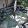 文珠荘の露天風呂温泉「智恵のゆ」