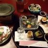 文珠荘の夕食