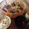 韻松亭、上野で昼食