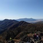 金時山山頂から長尾山へ