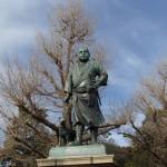 西郷隆盛像から東京国立博物館へ