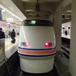 浅草駅から鬼怒川温泉駅に「特急スペーシアきぬ」で移動