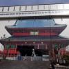 輪王寺、三仏堂は修理中