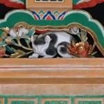 日光東照宮の陽明門、眠り猫