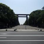 九段下駅から靖国神社へ