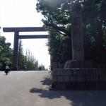靖国神社の中へ