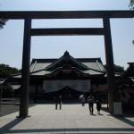 靖国神社本殿周辺