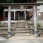 トロッコ嵐山駅を抜け御髪神社