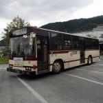 阪急嵐山駅前から京都駅へバスで移動
